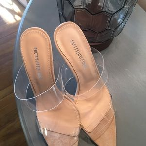PrettyLittleThing Shoes - Pretty little things clear high heels